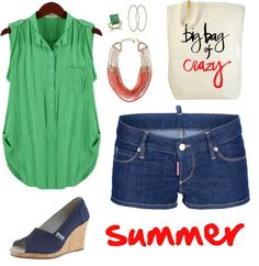 """summer"" by stellastarstella on Polyvore"