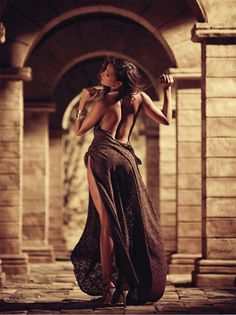 fashion glamour, car girls, warm colors, sexi, backless dresses