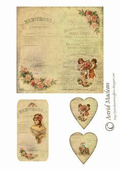 Valentines Collage sheet 2