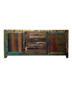 Reclaimed Wood Small Sideboard by Seven Wonders Furniture on #zulily