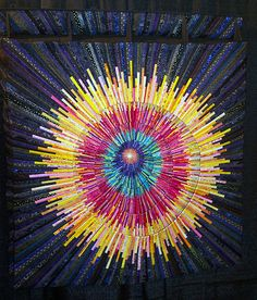 dian magarelli, big bang, texa, contemporari quilt, quilts, inspir quilt, dian rose, blind quilter