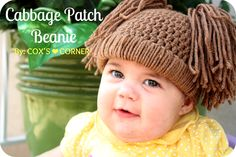 Cabbage Patch Doll Hat Tutorial