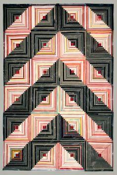 Camouflage | American Folk Art Museum. Sabrina Gschwandtner (b. 1977).  A quilt made from film strips.