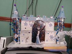 Frozen castle valentine's box