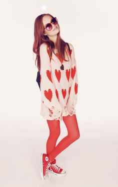 Wildfox Couture - All Over Love - Lennon Sweater