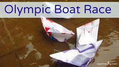 Olympic Boat Race from Experimenting Mom