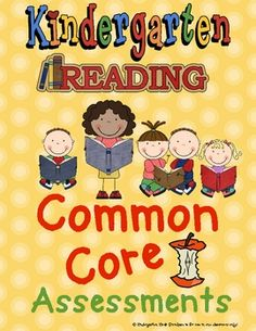Assessments for K common core standards