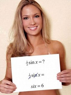 Funny And Stupid Solution Of Math Problem