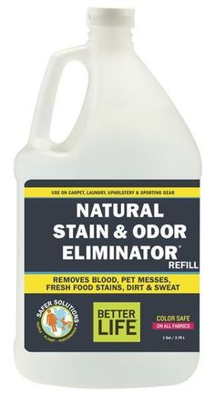 Stain and Odor Remov