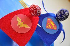 Superhero Valentines with FREE printable!