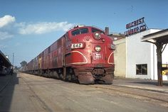 Last year for Rock Island Rocket passenger train service in Des Moines, 1969