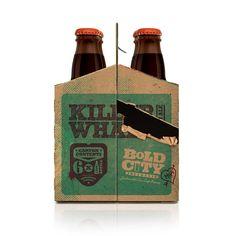 Killer Whale 6-Pack Carrier - The Dieline -
