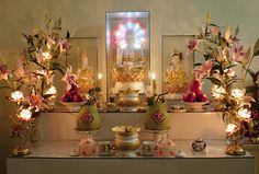 Buddhist family altar (by bambooland) - Venus In The Fifth
