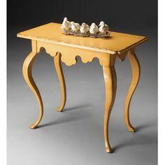 Butler Artist's Originals Console Table in Daffodil