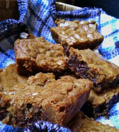 Butterscotch brownie