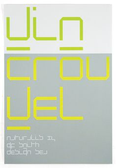 Wim Crouwel Poster by SEA Design — £80