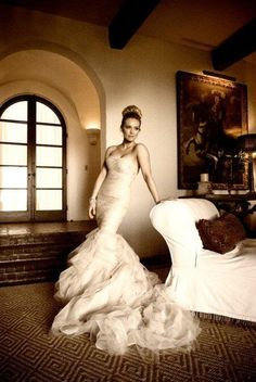 the bride and her dress #wedding #photography
