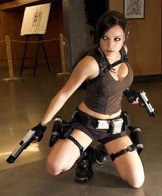 Lara Croft..