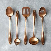 copper kitchen tools