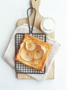 easy apple tart - recipes - donna hay