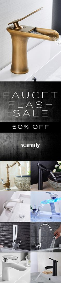 Fabulous Faucets - 50% Off at Warmly
