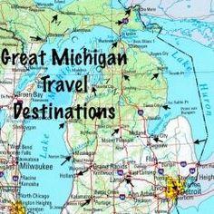 Five Great Michigan Travel Destinations