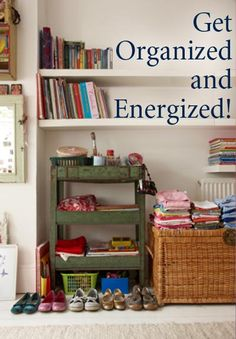 Get organized and energized! Time-Warp Wife