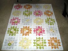 Sunkissed By Spring QuiltTutorial on the Moda Bake Shop. http://www.modabakeshop.com
