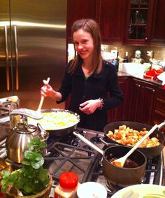 How would you like to have a cooking class in your own home kitchen?  Barrington Chef, Kelly Donlea's your answer...