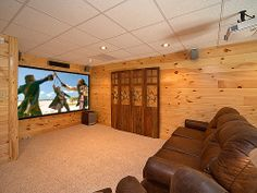 "All Things Considered - Sit back and relax in your cabin watching your favorite movie or game on the 110"" big screen home theater system, or gather with friends and family to enjoy a game of pool, play Nintendo Wii, or search the web with FREE High Speed Wireless internet."