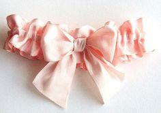 Pink garter
