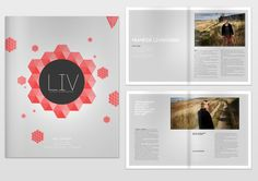 lifestyle magazine by Philip Meander, via Behance