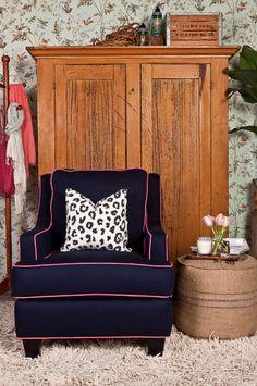 Society Social Official Photography June 2012 | The Quinn Club Chair, Cheetah Noir Pillow