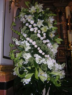 Arreglos florales de iglesias on pinterest altars bodas - Adornos florales para casa ...