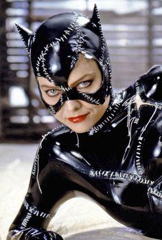 Michelle Pfeiffer as Catwoman in 'Batman Returns', 1992