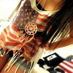 fringe shirt.