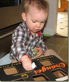 non-shape sorter for babies :)