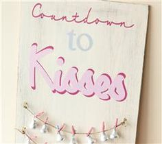 A countdown to Valentine's Day that is sure to make the kids happy!