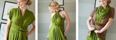 The Infinity Wrap Dress DIY