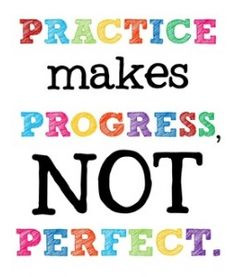 """Practice Makes Progress"" Free Printable by Shannon from technologyrocksseriously.com"