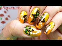 Tie and Dye Nails! By KhoobSurati.com