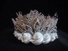 Seashell  Coral Tiara