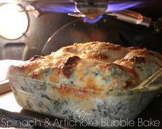 ~Spinach & Artichoke Bubble Bake! | Oh Bite It