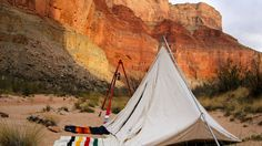 Camping in the Grand Canyon with #pendleton #greghatten #woodenboatadventure  Photo by Dave mortenson
