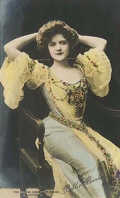 Billie Burke, Stage Actress and Film (Movie) Star - (1884-1970). - Born in the U.S.A.