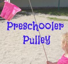 P is for Preschooler: Preschooler Pulley