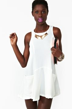 Now Or Never Dress in Ivory