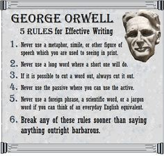 Writing an Impressive George Orwell Essay