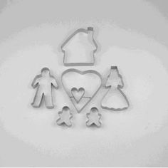 Home Metal Cookie Cutter Set
