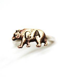 CA Bear Ring